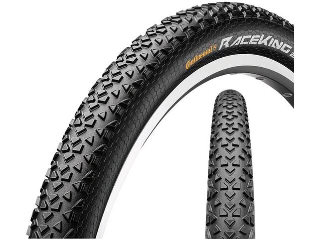 """Continental Race King 2.2 Sport 29"""" draadband Skin, black/black"""